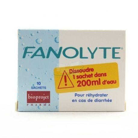 FANOLYTE POUDRE 10 SACHETS 4,5G