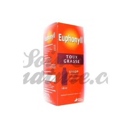 COUGH SYRUP EXPECTORANT EUPHONYLL ADULT FAT 180 ml