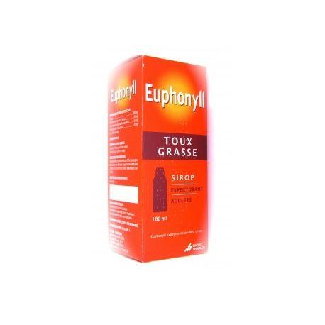 Sciroppo per la tosse espettorante EUPHONYLL ADULTI FAT 180 ml