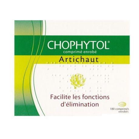CHOPHYTOL 180 comprimidos revestidos Diuretic