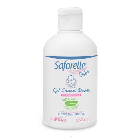 Saforelle BEBÊ DOCE Gel de Limpeza PEDIATRIA 250 ML