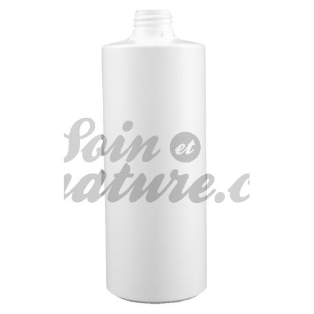 Flacon Bouillote Plastique Blanc 200 ml