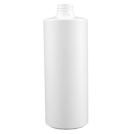 Garrafa garrafa de água quente de plástico branco 200 ml