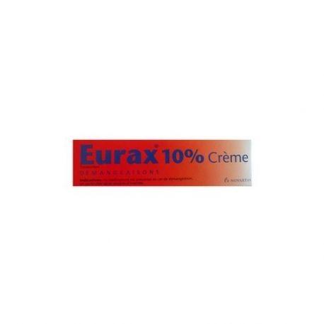 EURAX 10% TUB 40G CREMA
