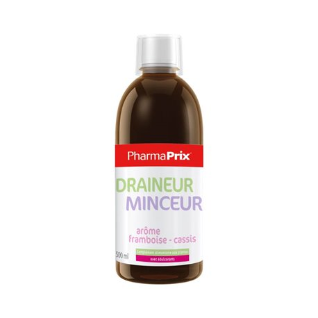 PHARMAPRIX Draineur minceur buvable flacon 500 ml