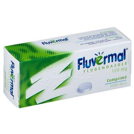 FLUVERMAL VERMIFUGE pinworm ASCARIS 6 TABLETS