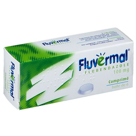 FLUVERMAL vermífug oxiürs Ascaris 6 TABLETS