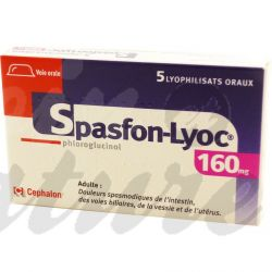 Spasfon LYOC 160mg TABLETS