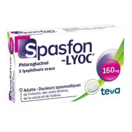 Spasfon LYOC 160mg COMPRESSE
