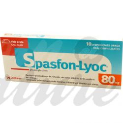 SPASFON LYOC 80MG DOULEURS ABDOMINALES 10 COMPRIMES