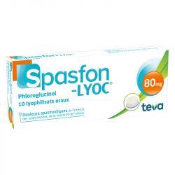 Spasfon LYOC 80mg COMPRESSE 10 DOLORE ADDOMINALE