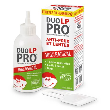 DUO LP PRO DUO LP LICE AND NIT-PRO WITHOUT ANTI LICE INSECTICIDE 150 ML