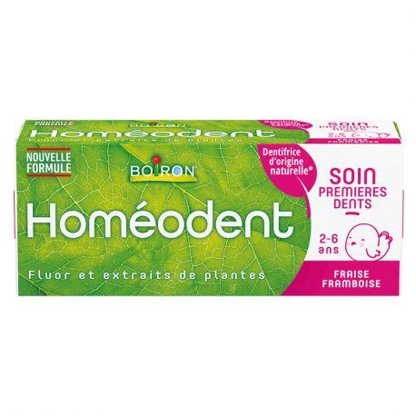 HOMEODENT Eerste tandverzorging homeopathische tandpasta voor kinderen Boiron