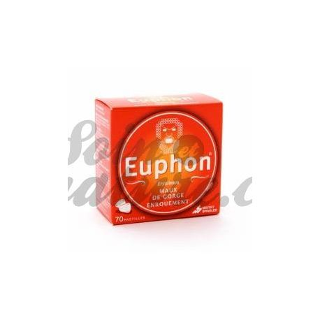 Euphon dor de garganta 70 comprimidos