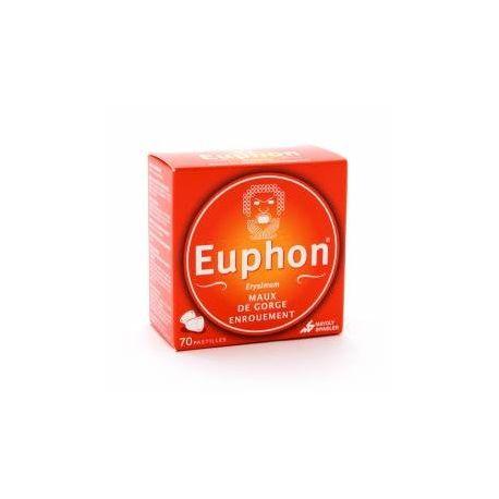 EUPHON MAUX DE GORGE 70 PASTILLES