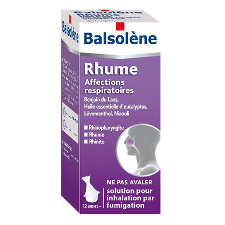 BALSOLÈNE INHALATION SOLUÇÃO - garrafa de 100ml
