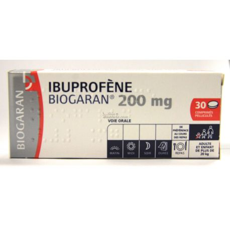 IBUPROFEN 200mg TABLET 30 BIOGARAN