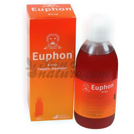 COUGH SYRUP 300ML EUPHON