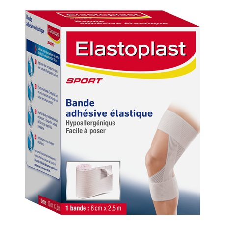 ELASTOPLAST ELASTIC TAPES 8CM