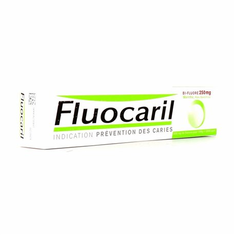 Fluocaril 250 BI FLUORURO MINT DENTIFRICIO 75ML