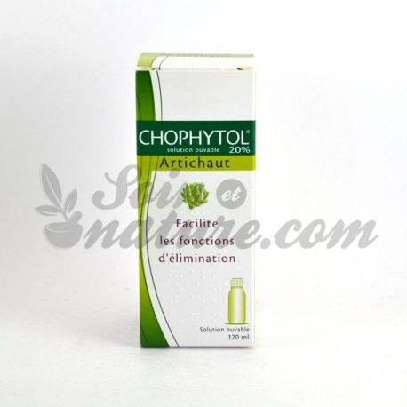 Chophytol 20% Solução Oral 120 ml Alcachofra