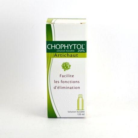 Chophytol solución oral 120 ml 20% de la alcachofa
