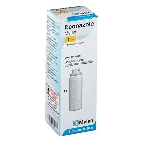 SPRAY BOTTLE 30ML econazole 1% MYLAN