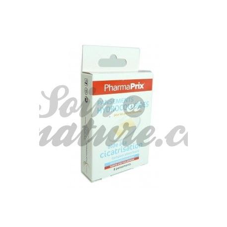 Pharmaprix 8 Hydrocolloid dressings