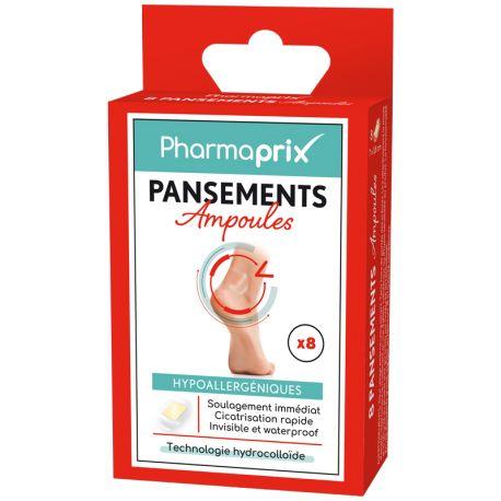 PHARMAPRIX 8 PANSEMENTS HYDROCOLLOIDES
