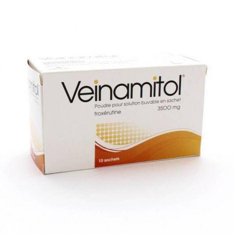 Veinamitol Troxerutina 3,5 G 10 sacos