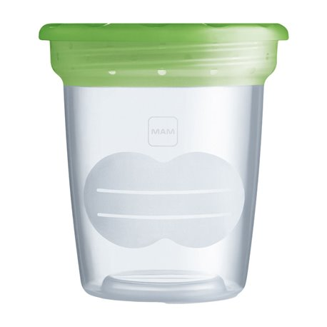 POT DI CONSERVAZIONE MAM 120ML X 5 GREEN