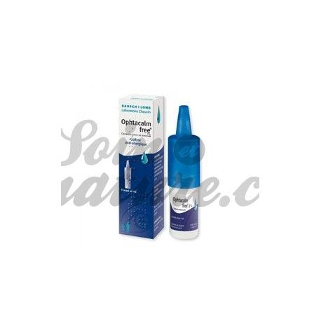 OPHTACALMFREE 2% COLLYRE 10ML