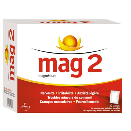 2 MAG BOLSA 30 MAGNESIO
