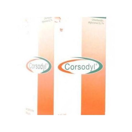 Corsodyl bocca della bottiglia 200ML BAGNO