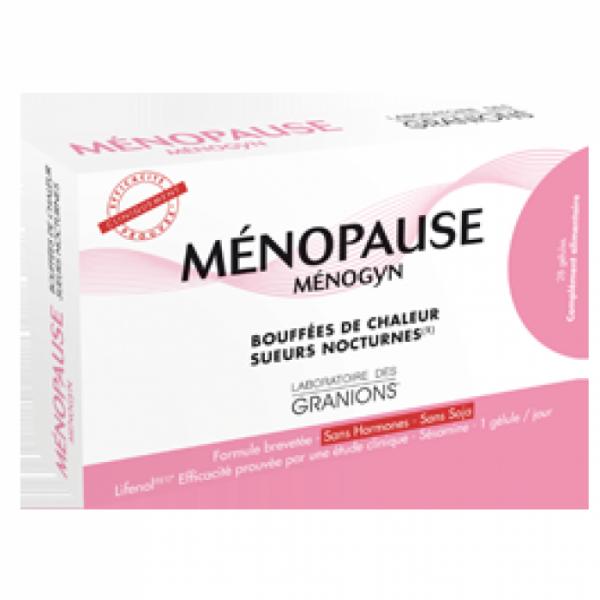 MENOPAUSE MENOGYN BOUFFES CHALEUR 28 GELULES dans notre