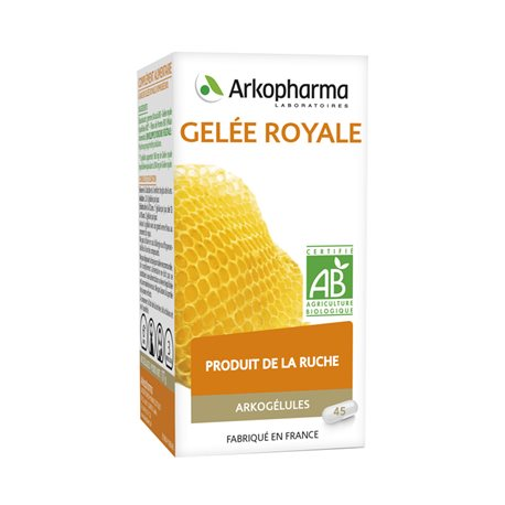 ARKOGELULES ROYAL JELLY 45 كبسولات ARKOPHARMA