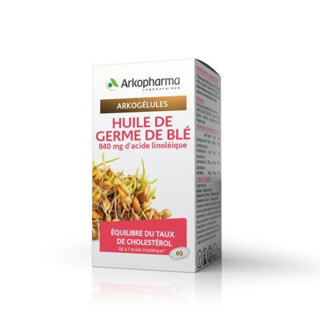 ARKOCAPS Weizenkeimöl 60 GEL Arkopharma