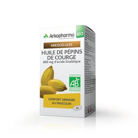 ARKOGELULES اليقطين SEED OIL 60 GEL ARKOPHARMA