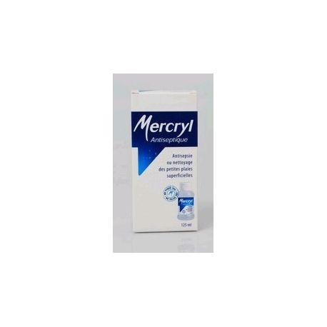 SOLUÇÃO GARRAFA 125ML Mercryl antiseptique