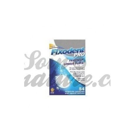 Fixodent CLEANER PRO FRESH LONG - 54 TABLETS