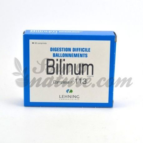 Bilinum complessi L113 difficili Digestione Gonfiore Lehning 60 Tablets
