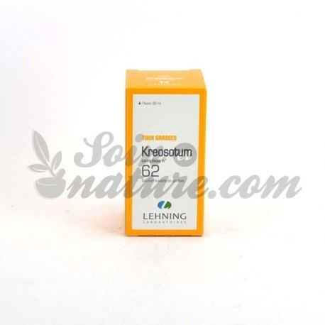 Kreosotum L62 Complex Cough Drops 30ml Herbes Lehning