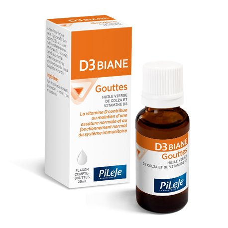 PILEJE D3 BIANE VITAMINE D gouttes 15 ml