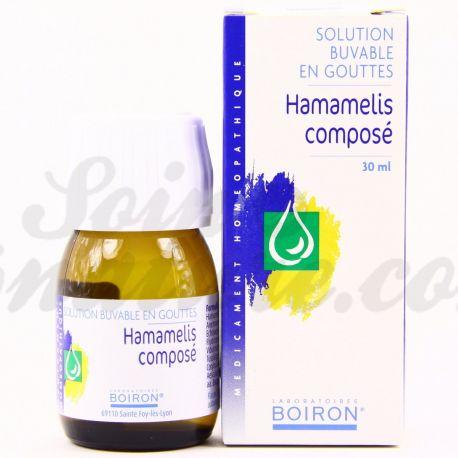 HAMAMELIS COMPOSE GRANULES GOUTTES COMPRIMES HOMEOPATHIE BOIRON