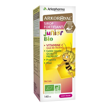 Arkopharma Arko Royal Sirop Bio Junior Fortifiant 140 ml