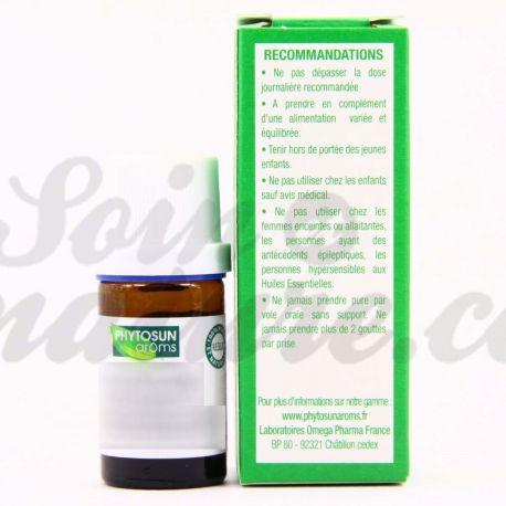PHYTOSUN Aroms ESSENZIALE Artemisia OLIO dracunculus L. Dragoncello