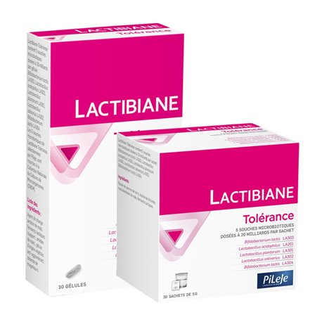 PILEJE LACTIBIANE TOLERANCE FERMENTS LACTIQUES 560 MG 30 GEL