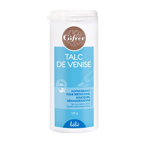 GIFRER TALC DE VENISE POUDREUSE 125G