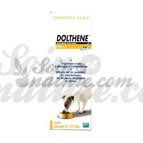 DOLTHENE DOG S, M or L Wormer Merial