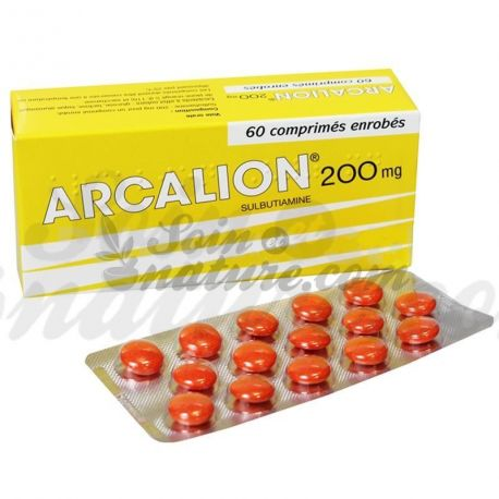 ARCALION 200 MG ETAT DE FATIGUE PASSAGER